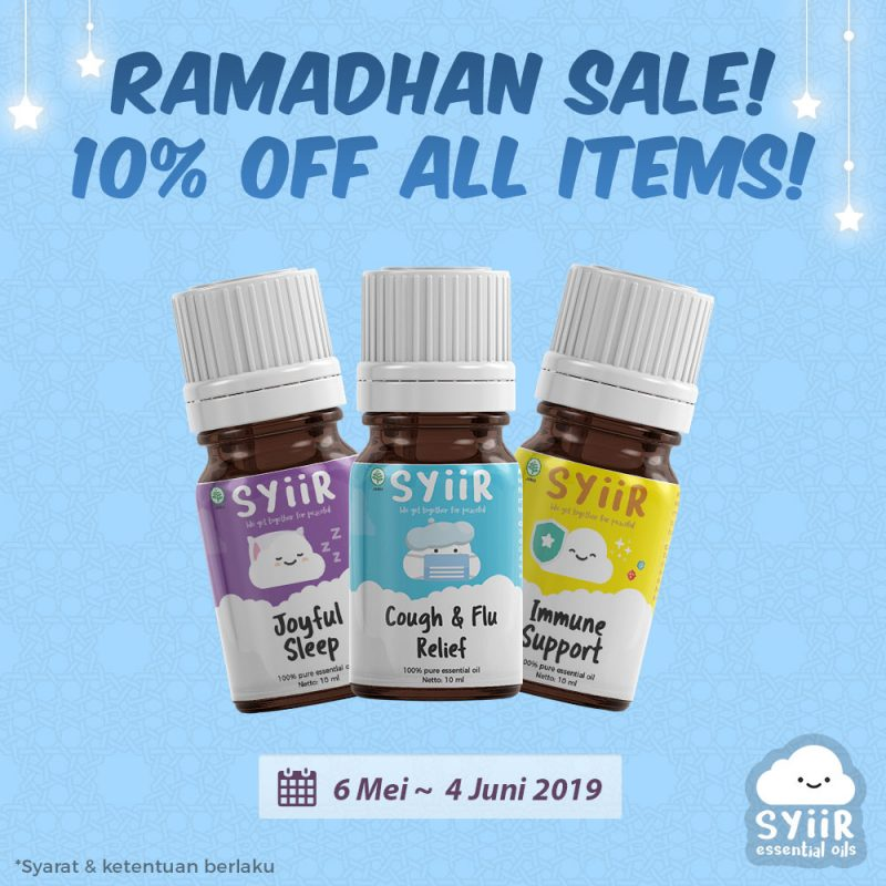 Promo Ramadhan 1440 H Diskon 10% All Items